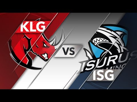 KLG vs ISG - CLS Apertura 2018 Semifinales D1P3