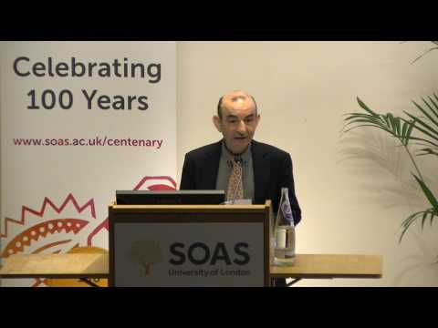 Centenary Lecture: Raja Shehadeh: Does Israel fear peace? SOAS University of London
