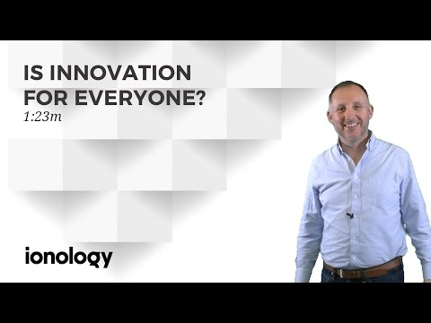 Is Innovation For Everyone?