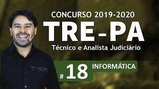 Concurso TRE-PA 2019 2020   Técnico e Analista Judiciário   Aula 18
