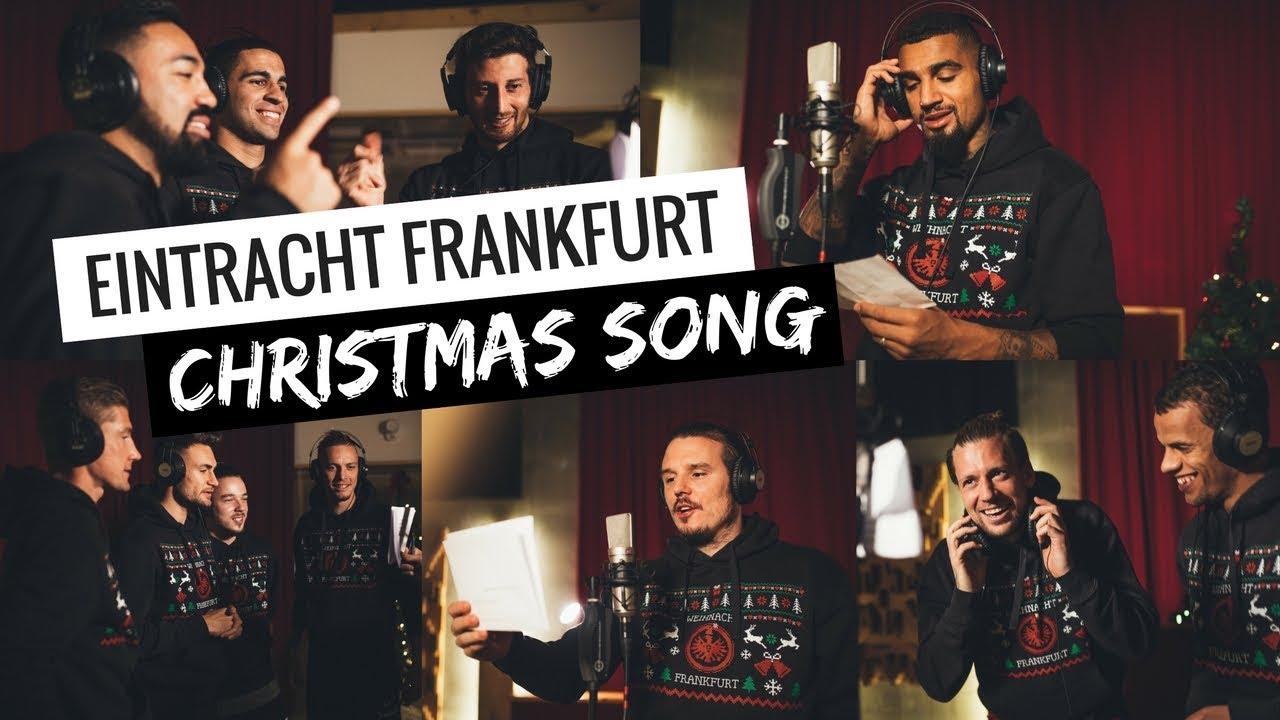 Eintracht Frankfurt Weihnachtsfeier.Eintracht Frankfurt International Christmas Song
