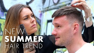 Summer 2017 hairstyles - Short fringe or Spiky quiff - Two in one haircut