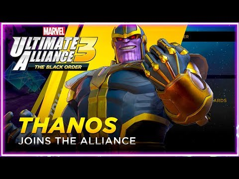 Unlock Thanos Playable Character! Marvel Ultimate Alliance 3: The Black Order - 동영상