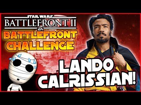 Lando Calrissian Challenge! - Loadout Challenge #17 - Star Wars Battlefront 2 deutsch Tombie thumbnail