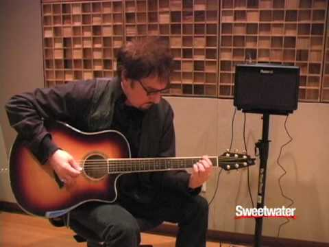 roland ac 33 acoustic guitar amplifier demo sweetwater youtube. Black Bedroom Furniture Sets. Home Design Ideas