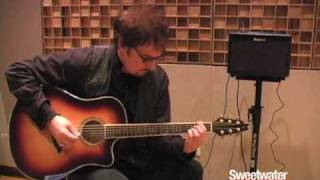 Roland AC-33 Acoustic Guitar Amplifier Demo - Sweetwater