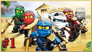 Мультик ЛЕГО НИНДЗЯГО на русском языке - 1 серия. Мультфильмы для детей. Lego Ninjago 2016