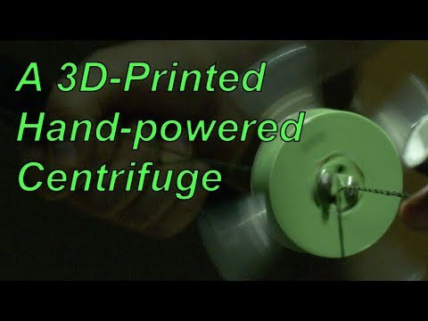 3D-Fuge: a 3D-Printed Hand-Powered Centrifuge