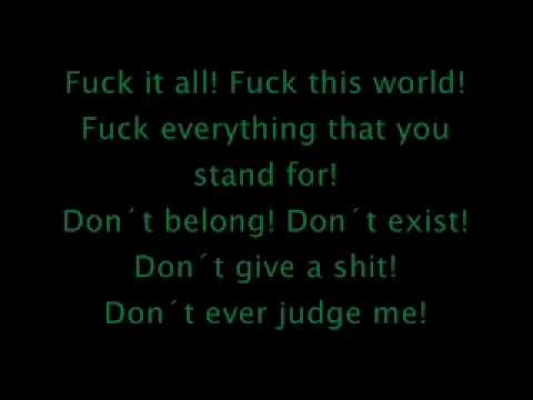 Slipknot Surfacing with lyrics