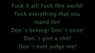 Slipknot Surfacing with lyrics