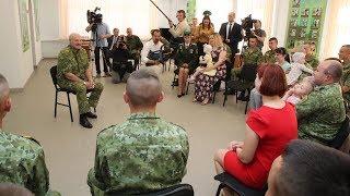 Лукашенко считает свою службу в погранвойсках судьбоносной для президентской карьеры