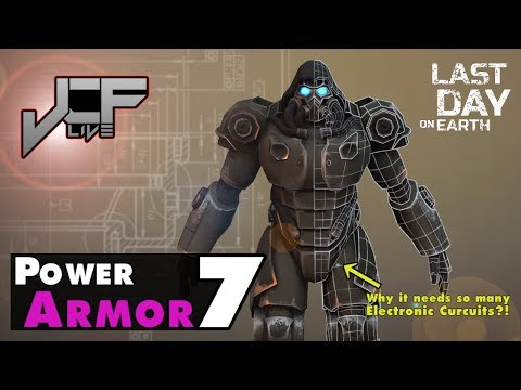 Using Power Armor in Sector 7 in Last Day on Earth (Live Event)