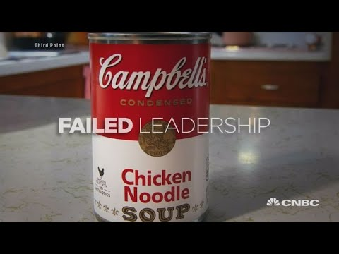 Hedge funder Dan Loeb's critical video on Campbell's soup