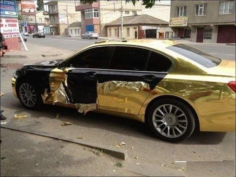 Automobile film Gold,Silver,Black Carbon(Автомобильная пленка Золото,Серебро,посылка №12,13