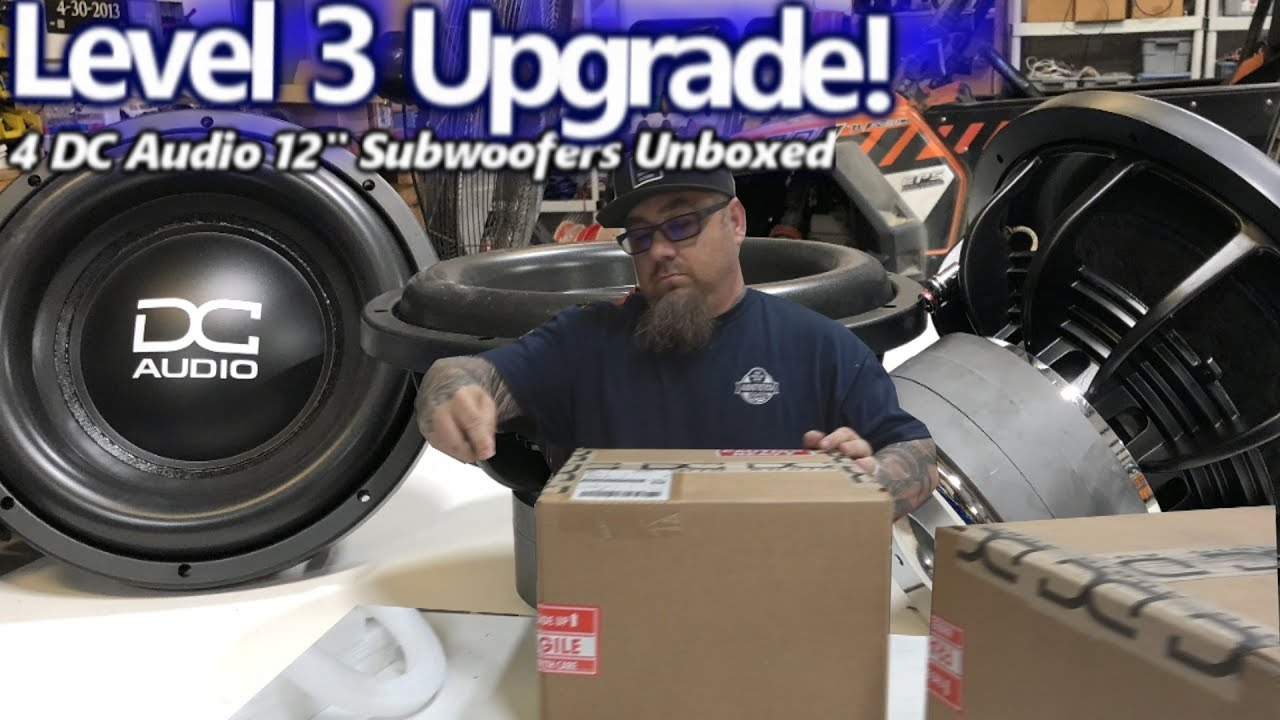 a-level-3-upgrade-unboxing-4-dc-audio-12-subwoofers-for-rob-s-bucket-o-bass