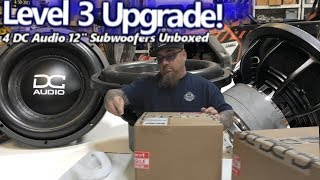 a Level 3 Upgrade! Unboxing 4 DC Audio 12
