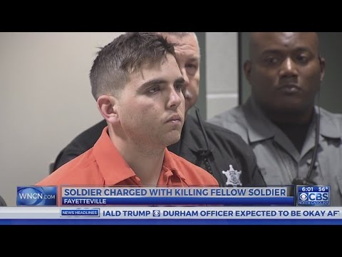 Ft. Bragg soldier charged with murder of fellow soldier