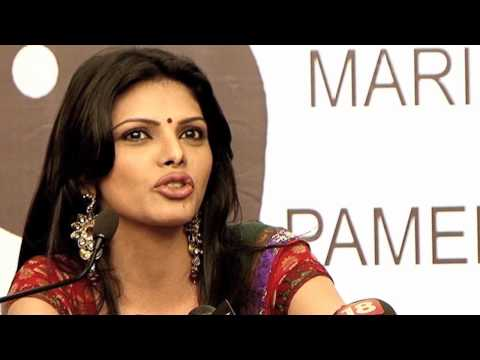Sherlyn Chopra's controversial press conference