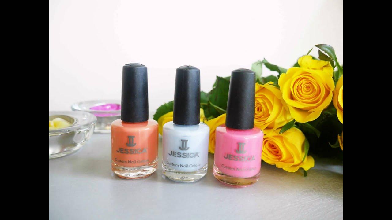 Jessica nail polish - YouTube