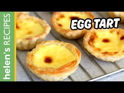 EGG TART Recipe - Tart Trứng