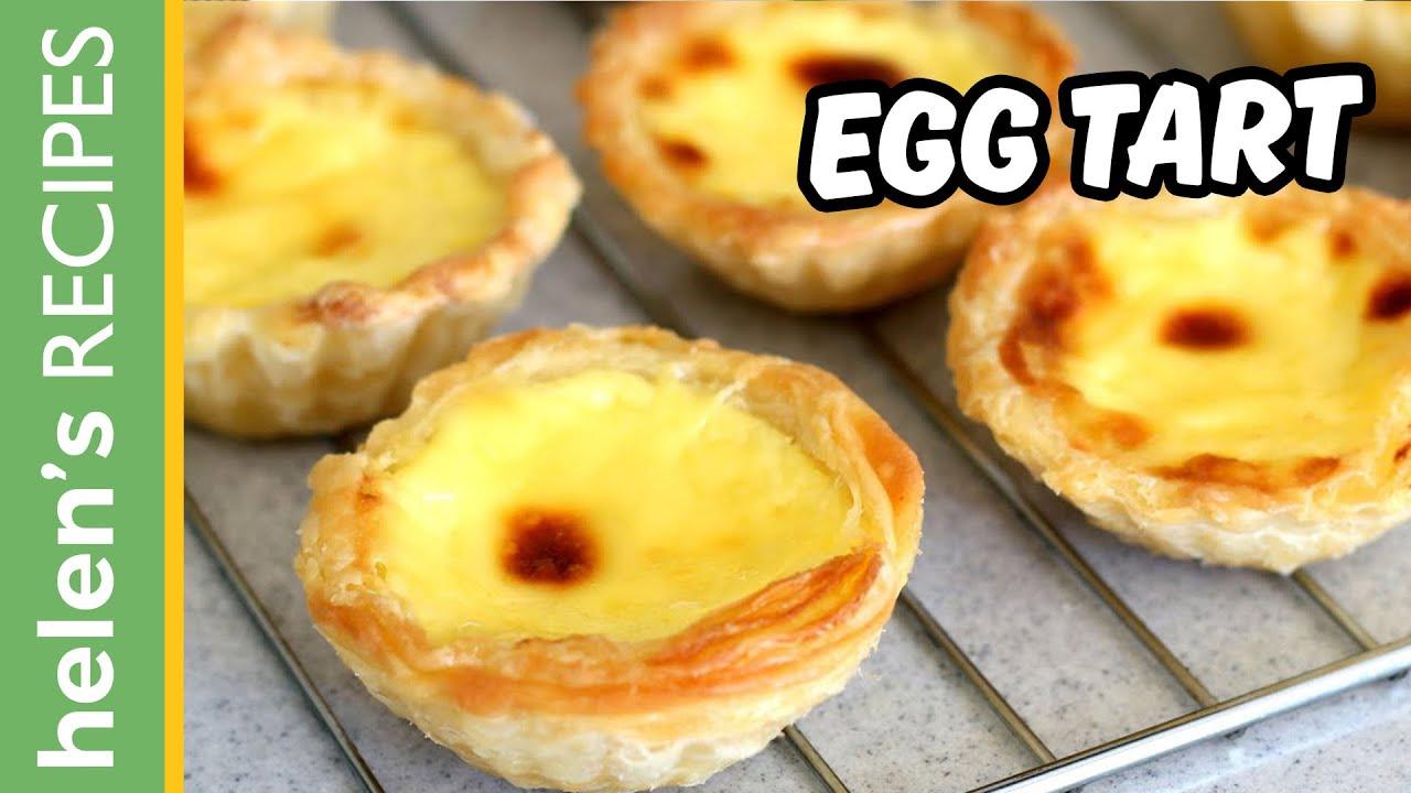 EGG TART Recipe – Tart Trứng
