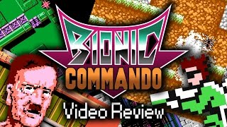 Bionic Commando | Video Review - A Forgotten NES Classic or a Waste of a Cartridge!?