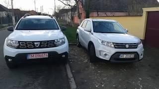 Dacia Duster vs Suzuki Vitara
