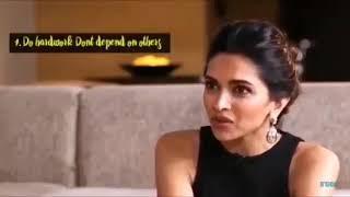 Motivational video   Deepika Padukone   7 Rules of Success