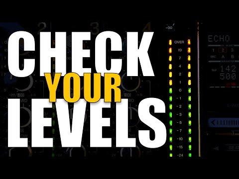 Check Your Levels! (Tuesday Tips)