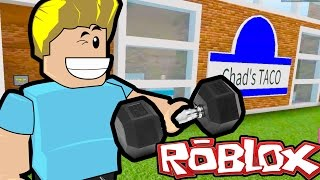 Roblox / Perfect Beach Body! / Gym Tycoon / Gamer Chad Plays