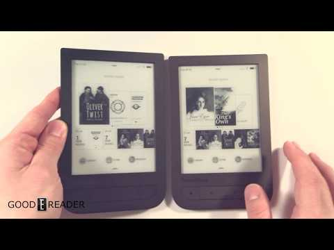 Pocketbook Touch HD vs Touch HD 2 Comparison