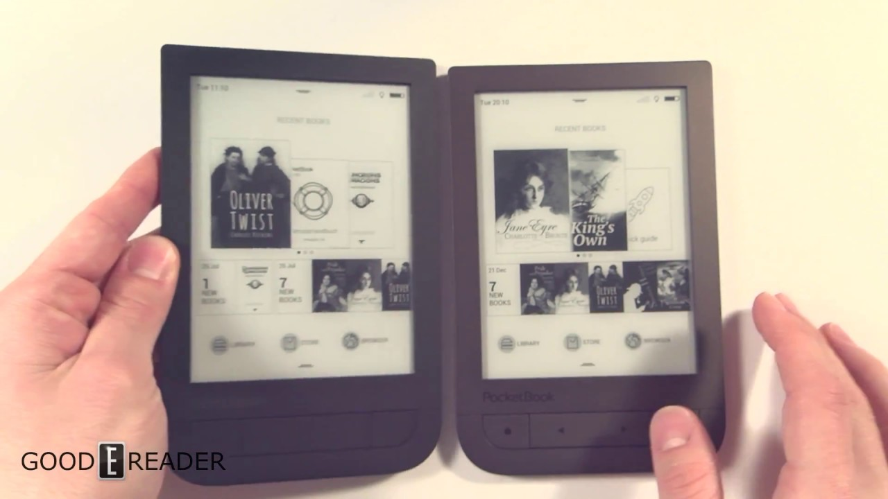 Электронная книга PocketBook Pro 912 - YouTube