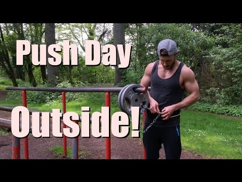 Push Workout - Outdoors in NATURE!