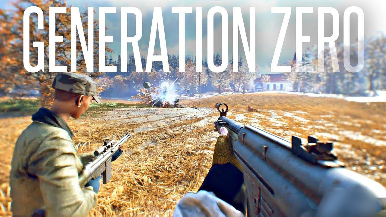 Download HUNTING WILD ROBOTS - Generation Zero Gameplay