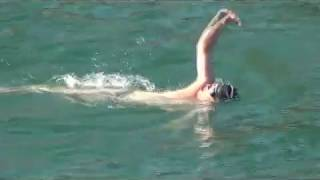 Dr. Glažar plivao za branitelje, snimio Marko Čuljat Lika press Gospić
