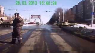 Авто приколы на дорогах - выпуск №1 - нарезка, видео приколы 2014