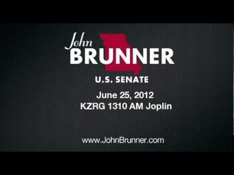 John Brunner on KZRG 1310 AM Joplin