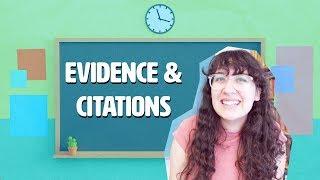 How To Write Aฑ Essay: Evidence and Citation