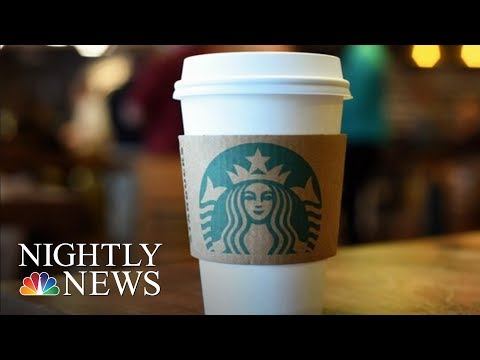 Starbucks Will Temporarily Close 8,000 U.S. Stores For Racial-Bias Training | NBC Nightly News