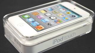 iPhone 5C - Apple iPod Touch 4G White: Unboxing & Setup