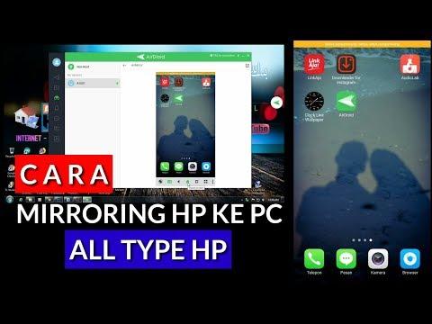 Cara Memainkan Atau Mirroring Hp Ke PC, Hp Oppo (All Type Hp)