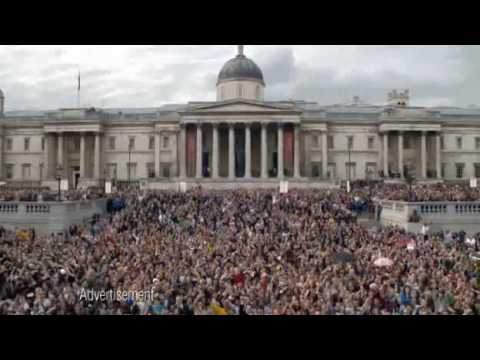 T Mobile Advert Hey Jude in Trafalgar Square [TV Ad from 2nd May ...