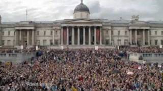 T Mobile Advert Hey Jude in Trafalgar Square [TV Ad from 2nd May 2009]
