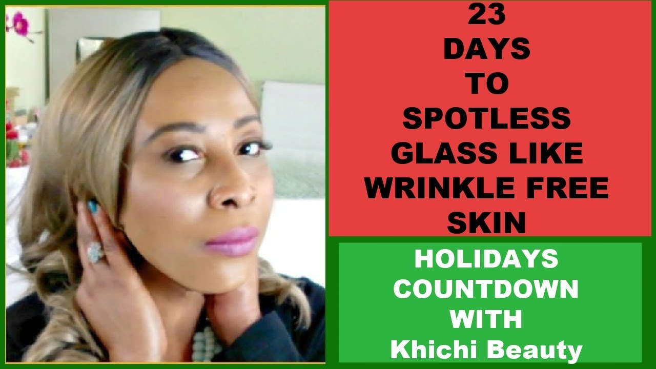 11 DAYS TO SPOTLESS GLASS LIKE WRINKLE FREE SKIN - YouTube