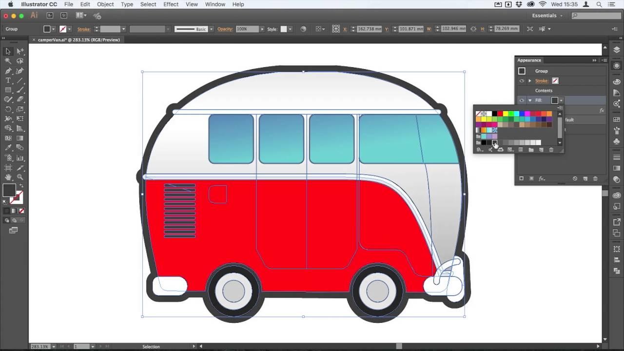 how to add a keyline outline illustrator graphics youtube hahn vektor logo als vektordatei