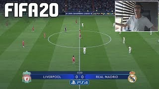 FIFA 20 DEMO - LIVERPOOL vs REAL MADRID - PS4 GAMEPLAY