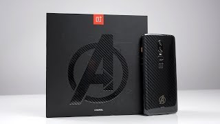 OnePlus 6 Avengers Special Edition: Unboxing & Hands-On (Deutsch) | SwagTab