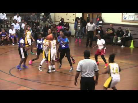 Benjamin Tasker girls vs Chesapeake girls 11-16-2015