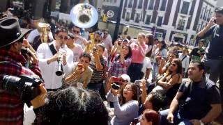 banda ms por el tigui en plaza universidad en guadalajara