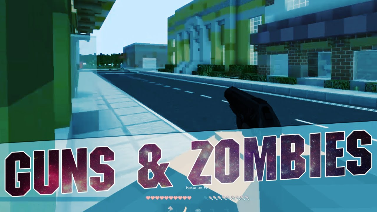 Minecraft DayM Guns and Zombies Mod (Multiplayer Servers with